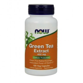 Green Tea Extract 100 caps Now Foods