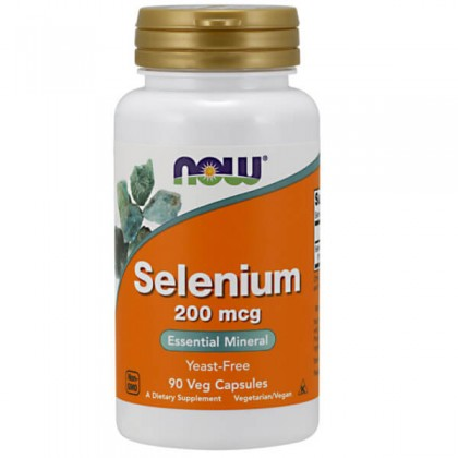 Selenium 200mcg 90 caps Comprar Now Foods