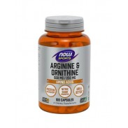 Arginine & Ornithine 1000/500mg 100 caps Now Foods