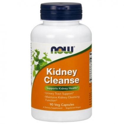 Kidney Cleanse 90 caps Limpar Rins Now Foods - CorposFlex