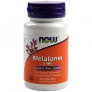 Melatonin 3mg 60 caps Comprar Preço Melatonina Now Foods