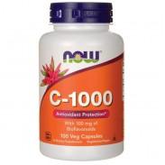 C-1000 100 caps Vitamina C Antioxidante Now Foods
