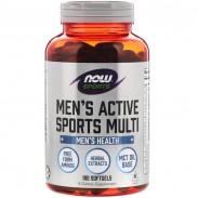 Men's Active Sports Multi 90 Softgels Now Foods