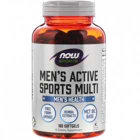 Men's Active Sports Multi 90 Softgels Now Foods