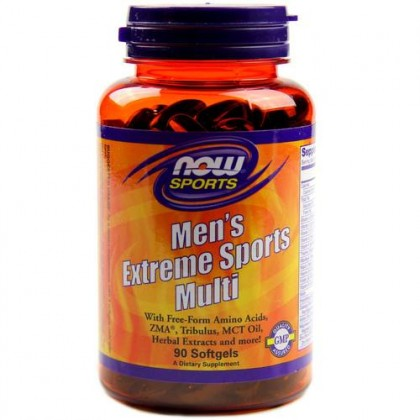 Men's Extreme Sports Multi 90 caps softgels Now Foods