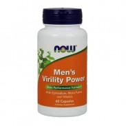Men's Virility Power 60 caps Libido Now Foods