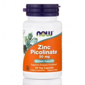 Zinc Picolinate 50mg 60 caps Now Foods