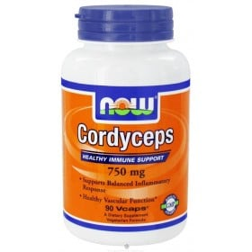 Cordyceps 90 caps 750mg Now Foods