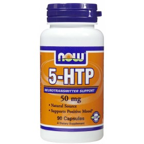 5-HTP 50mg 90caps Now Foods