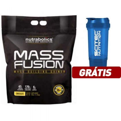 Mass Fusion 7.26kg - 16lbs Nutrabolics