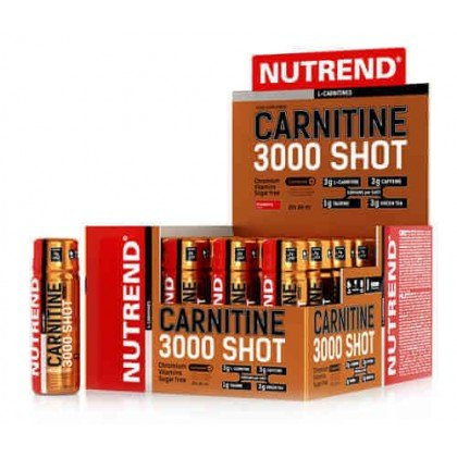 Carnitine 3000 Shot 60ml Unidose Nutrend