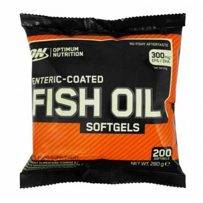 Fish Oil 200 caps softgels Optimum Nutrition
