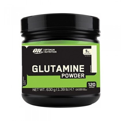 Glutamine powder 630g em pó Optimum Nutrition