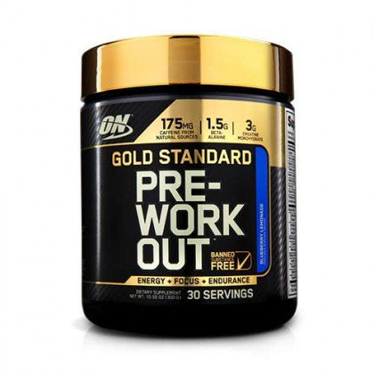 Gold standard pre-workout 330g Optimum