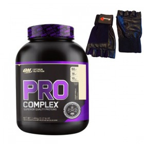 Pro Complex whey relatos Optimum nutrition