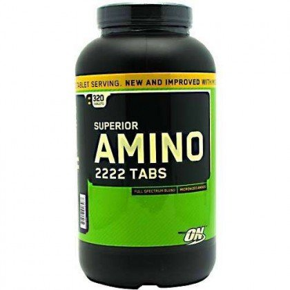 Superior Amino 2222 (320Tabs) Optimum Nutrition