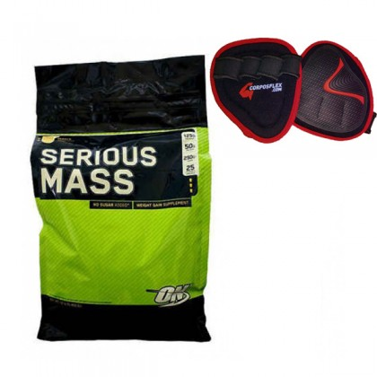 Serious Mass 5450g Mais Oferta Optimum Nutrition