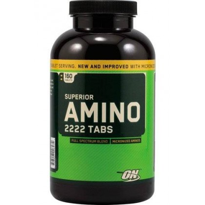 Superior Amino 2222 160 Tabs Optimum Nutrition