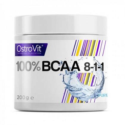 BCAA 8-1-1 200g Aminoacidos Pó Ostrovit