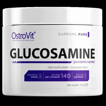 Glucosamine 210g 100% Pura em Pó Ostrovit