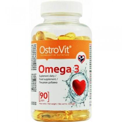 Omega 3 90 Caps Softgels Ácidos Gordos Efeitos Ostrovit