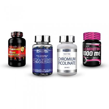 Pack Suplementos para Definir Músculos