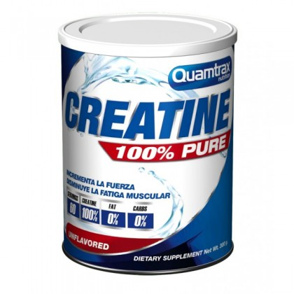 Creatine 100 pure 300g Quamtrax Nutrition