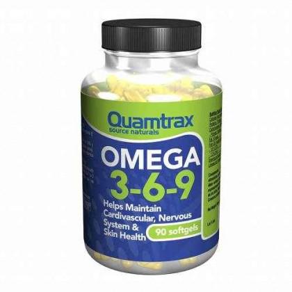Omega 3,6,9 90 softgels Quamtrax Nutrition