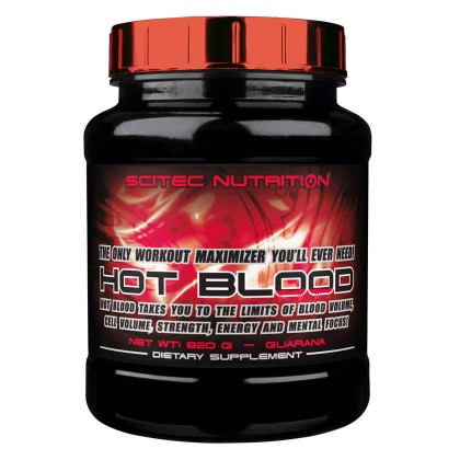 Hot Blood 2.0 820g Scitec Nutrition