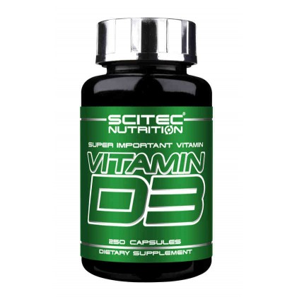 Vitamin D3 250 caps Scitec Nutrition