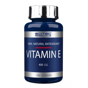 Vitamin E 400 u.i. 100 caps Scitec Nutrition