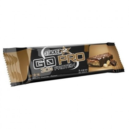 Go Pro Protein Bar 80g Barra Snack Stacker 2