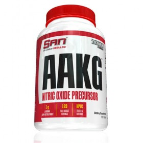 AAKG 1000mg 120 caps SAN Nutrition