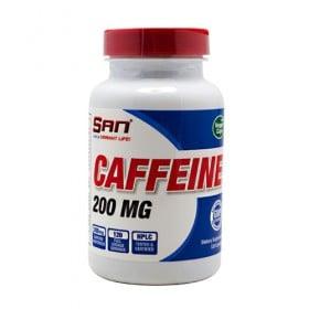 Caffeine 200 mg 120 caps Cafeina San Nutrition
