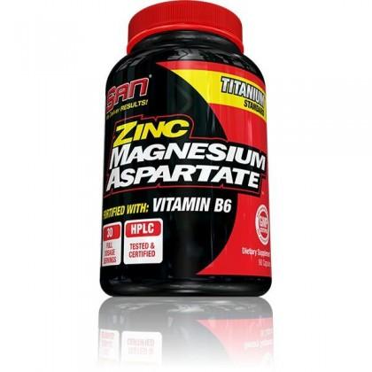 Zinc Magnesium Aspartate 90 caps SAN Nutrition