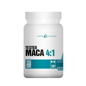Maca 4:1 100 caps 500mg extratoTested