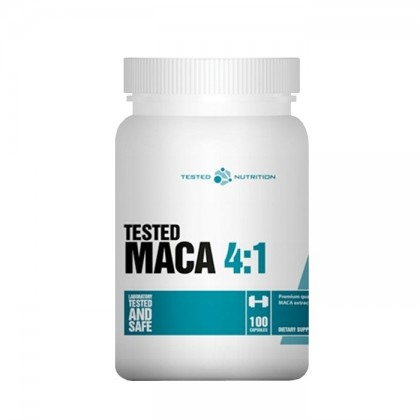 Maca 4:1 100 caps 500mg extratoTested Nutrition