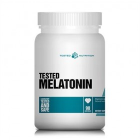 Melatonin 3mg 90 caps Melatonina Preço Tested Nutrition
