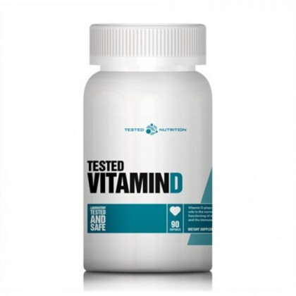 Vitamin D 90 caps Tested Nutrition