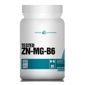 Zn-Mg-B6 90 caps ZMA Como Tomar Tested Nutrition
