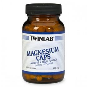 Magnesium 400mg 100 caps Twinlab