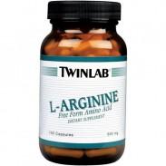 L-Arginine 100 caps Twinlab