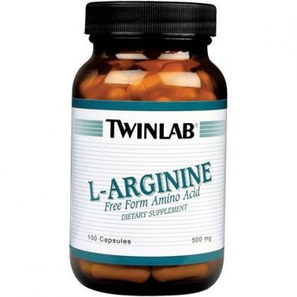 L-Arginine 100 capsules Twinlab