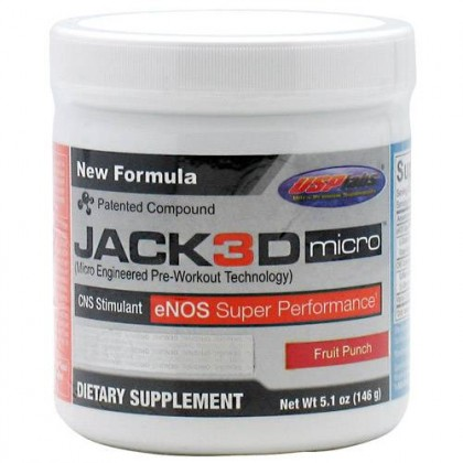 Jack3d Micro 146g 40 servings USPLabs