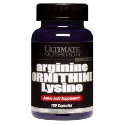 Arginina Ornitina Lisina 750mg Ultimate