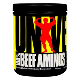 100 Beef Aminos 200 Tabs Universal Nutrition