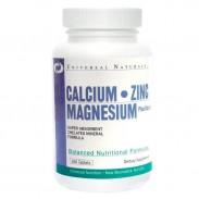 Calcium Zinc Magnesium 100 tabs Universal Nutrition