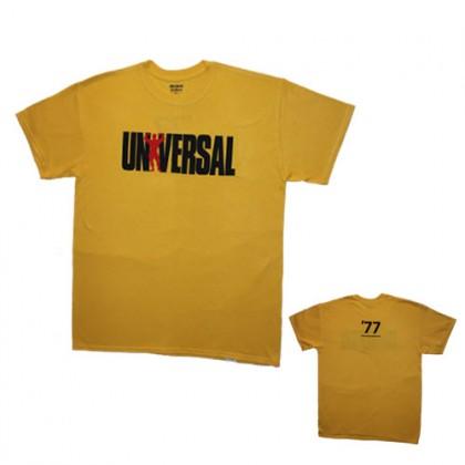 T-Shirt Universal Nutrition Cor Amarela CorposFlex