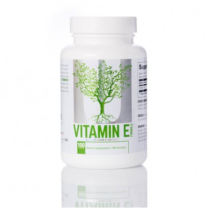 Vitamin E 100 caps Softgels Universal Nutrition