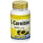 L-Carnitine 500mg 60caps Vitalabs